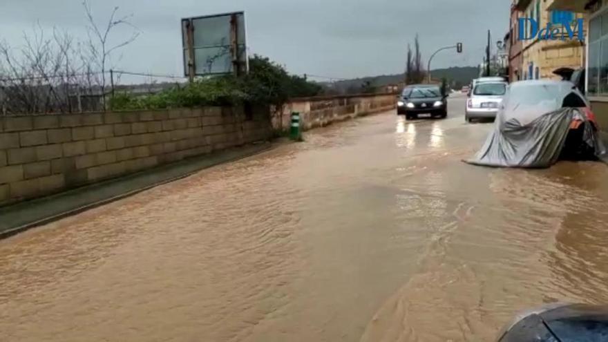 Inundaciones en Son Carrió por la borrasca 'Gloria'