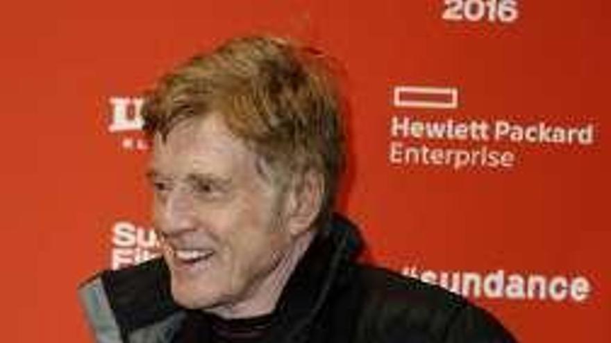 Robert Redford dice ahora que no quiere hablar de abandonar su carrera de actor