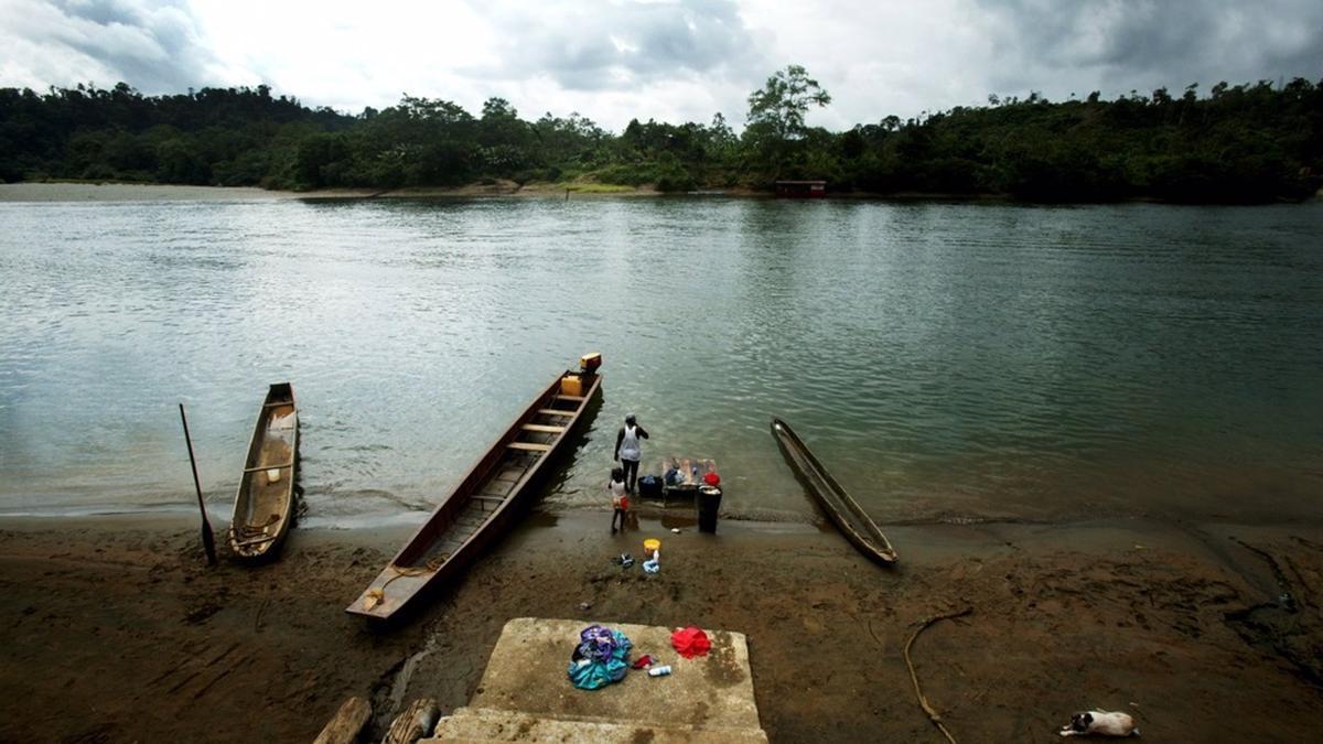 Un río en Nariño, Colombia.