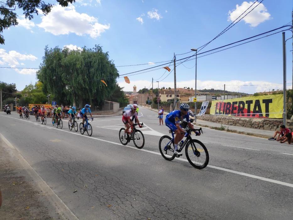 La Vuelta al seu pas per Sant Martí Sesgueioles