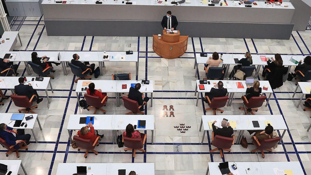 Imagen panorámica de la Asamblea Regional.