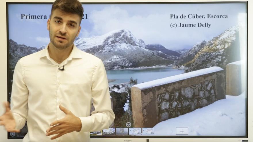 El tiempo del fin de semana en Mallorca: Días de frío intenso y nieve