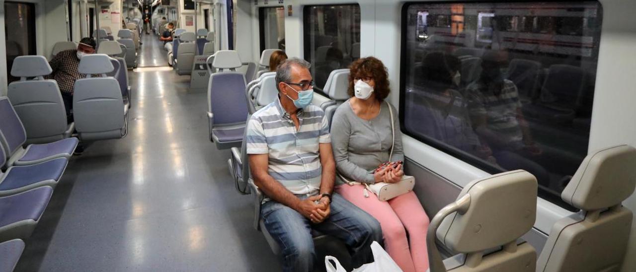 El transporte público no despega pese a la reversión de las principales restricciones