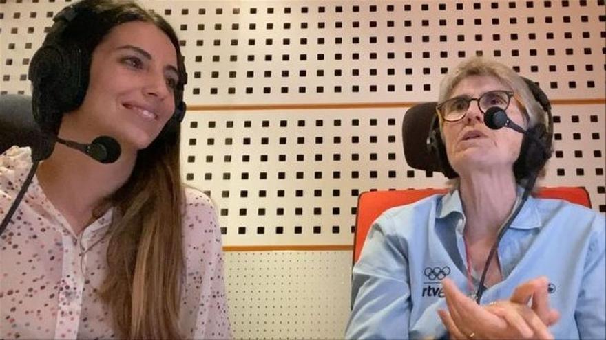 """La emotiva despedida de Almudena Cid a Paloma del Río: """"Eres la banda sonora de nuestras vidas"""""""