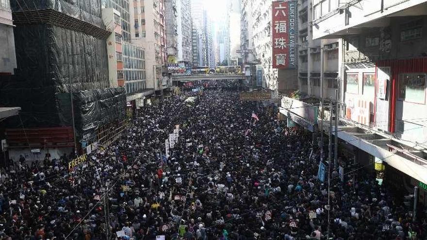 Las movilizaciones en Hong Kong cumplen seis meses a pleno gas