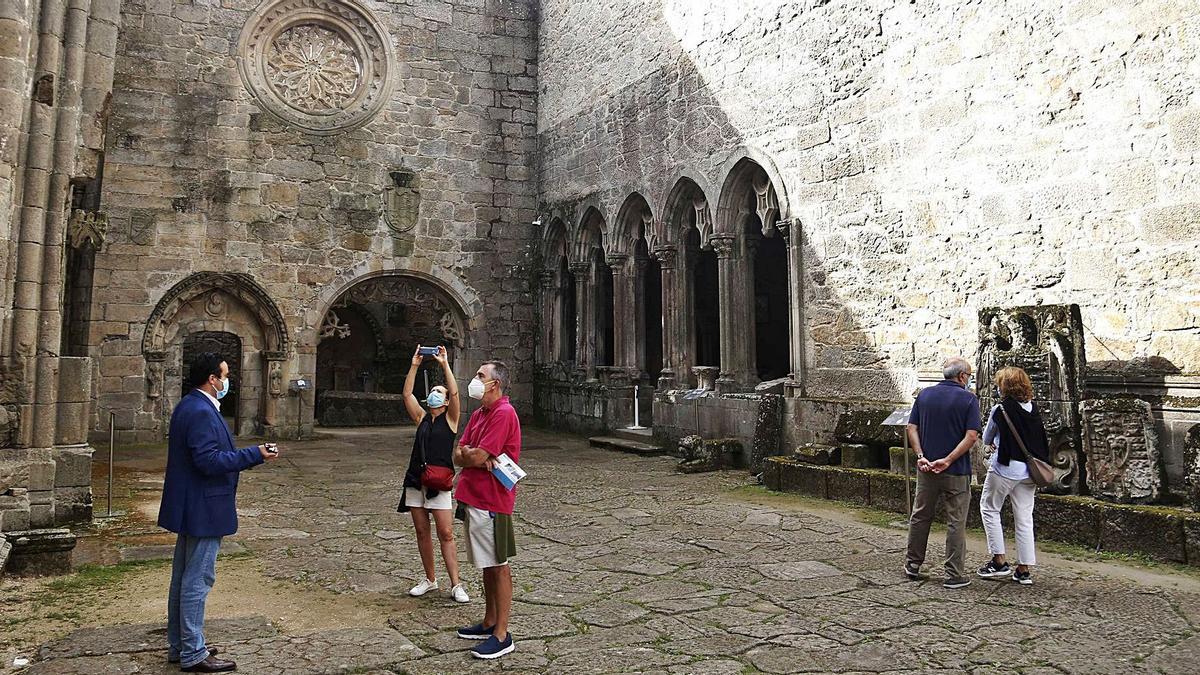 Las Ruinas de Santo Domingo podrán visitarse por libre, con aforo limitado, hasta el mes de octubre.   | // FDV