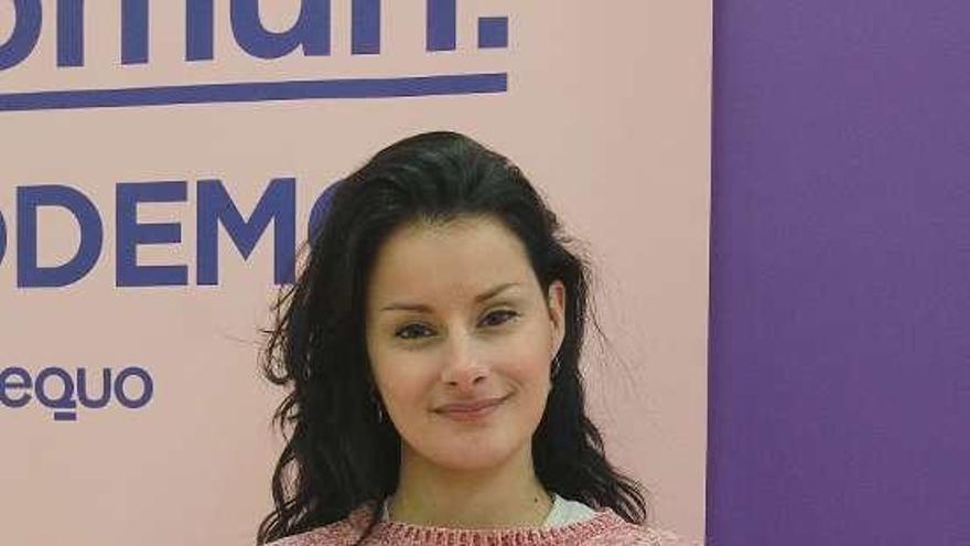 Ledicia Piñeiro, cabeza de lista de En Común Podemos