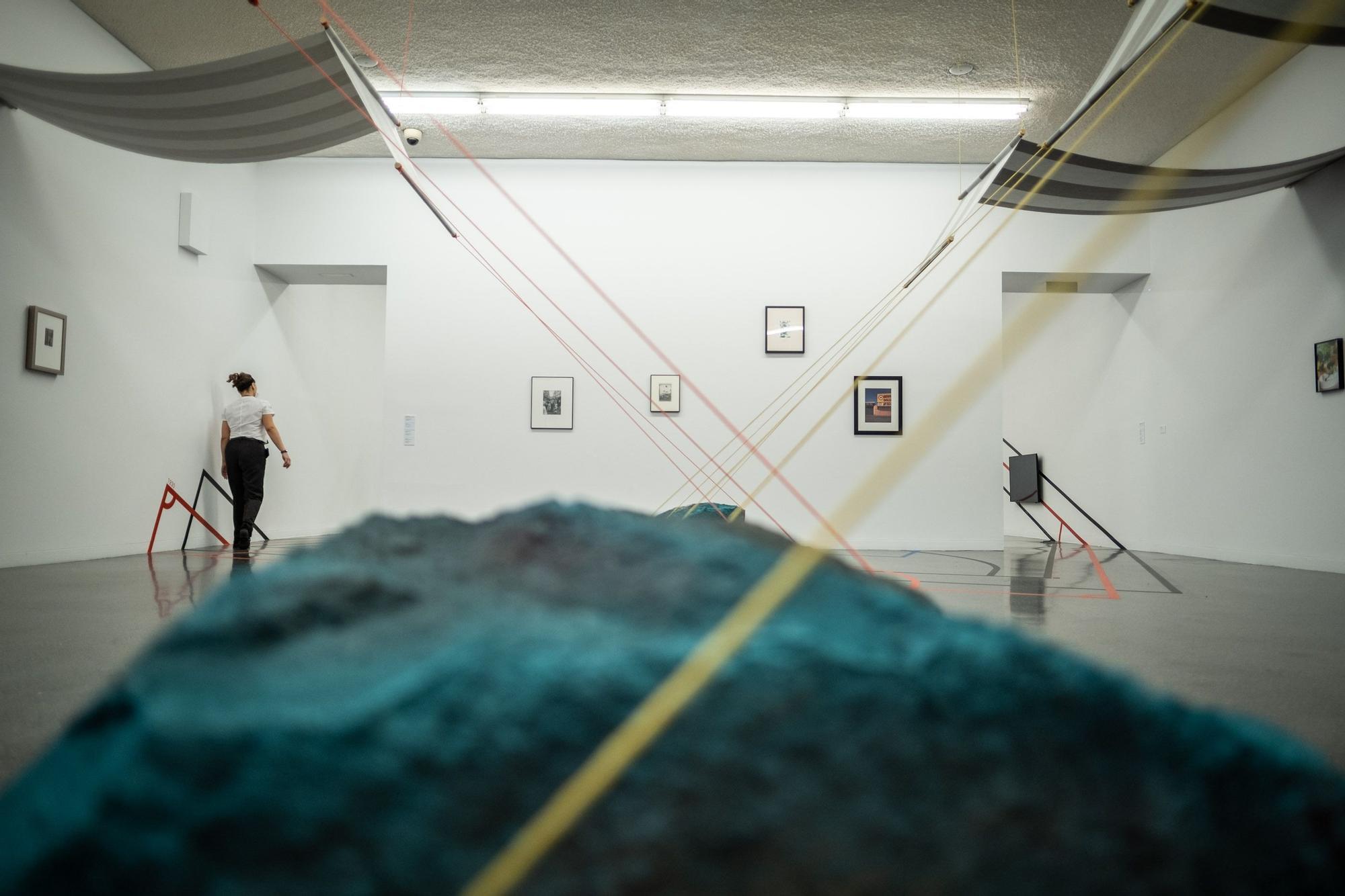 Presentación de la exposición 'Dos años de vacaciones. Céline Condorelli'