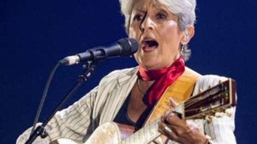 Joan Báez y Amancio Prada reviven a Rosalía de Castro