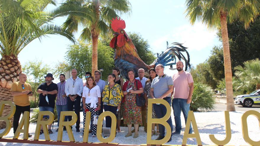 Inaugurada la nueva rotonda del Barrio Bajo de Aguilar de la Frontera