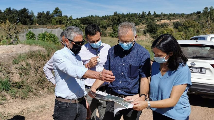 El Consell repara viales de 14 municipios de Castellón dañados por 'Filomena' con 1,4 millones de euros