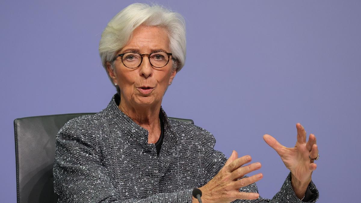 La presidenta del BCE, Christian Lagarde.