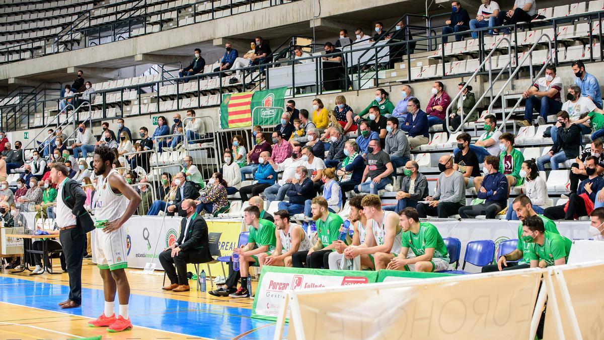 El pabellón de la capital de la Plana aumentará su aforo para los partidos de la promoción de ascenso a ACB.