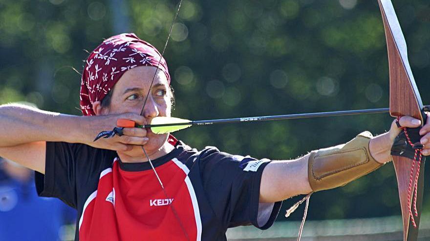 Maika Fernández, del club Boa Vila de tiro con arco, se hace con el título nacional