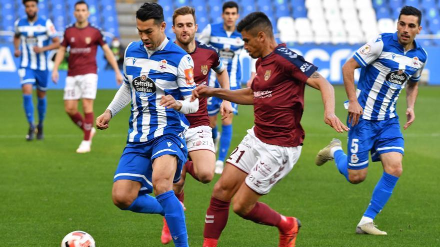 El Dépor le gana 1-0 al Pontevedra