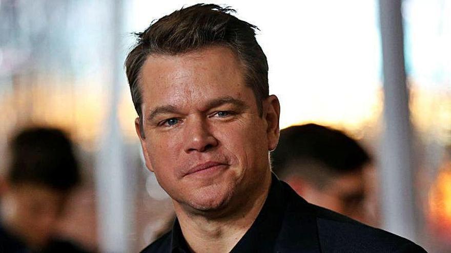 Matt Damon cumple los 50