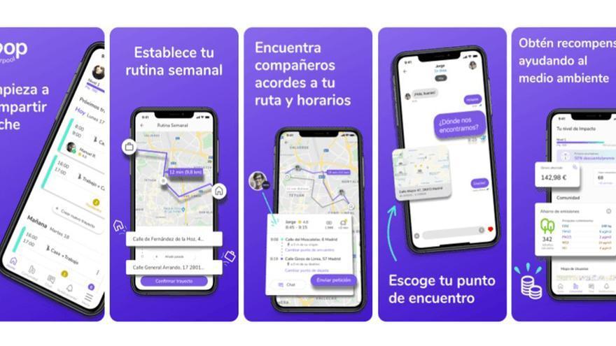 La Universidad de Alicante pone en marcha una aplicación móvil para compartir coche