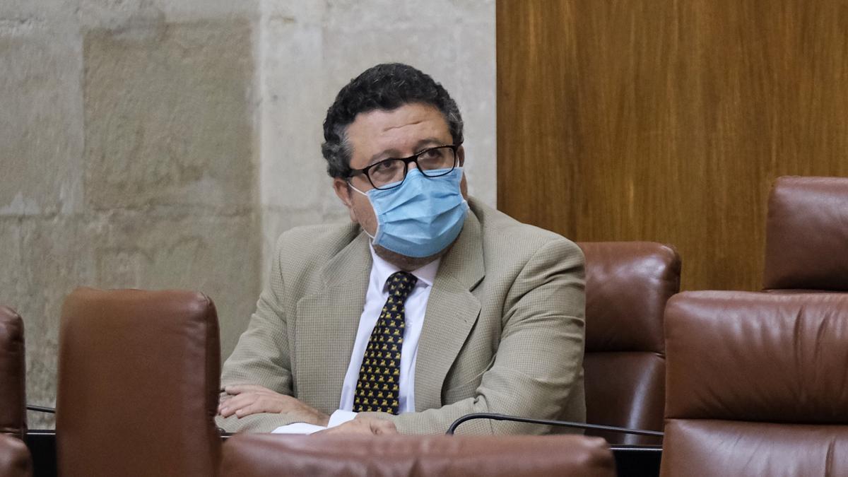 El exlíder de Vox en Andalucía, Francisco Serrano