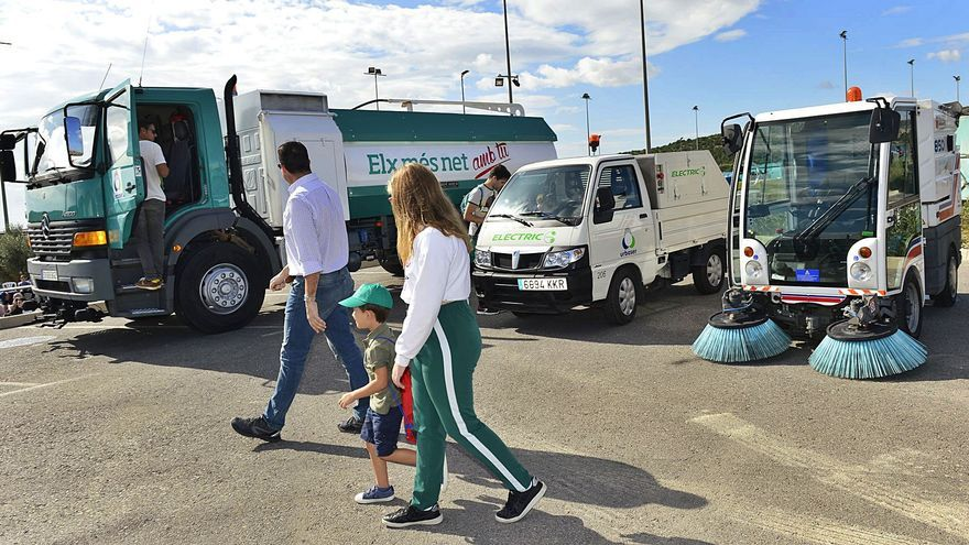 Elche se pone a la cabeza de la provincia en la recogida de basuras con vehículos ecológicos