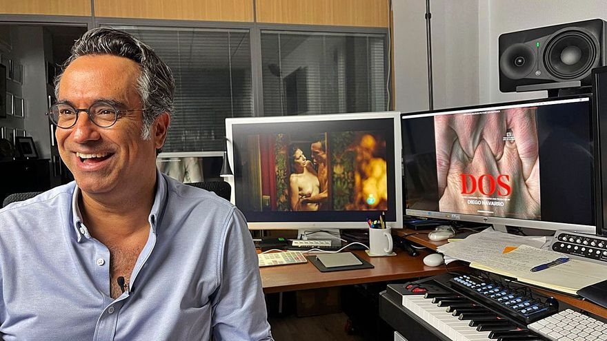 Diego Navarro: «El dorado de un compositor es una directora que confía plenamente en ti»