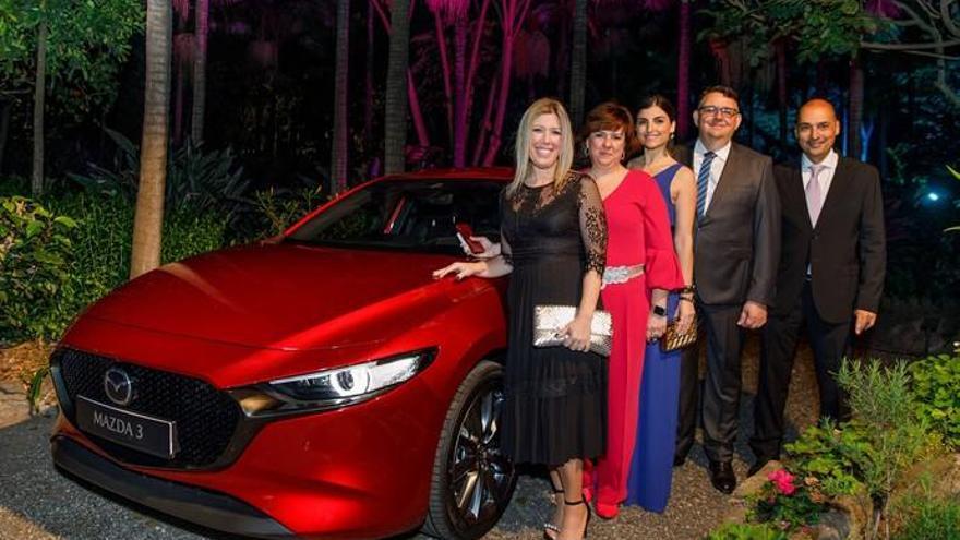 Mazda 3, material sensible