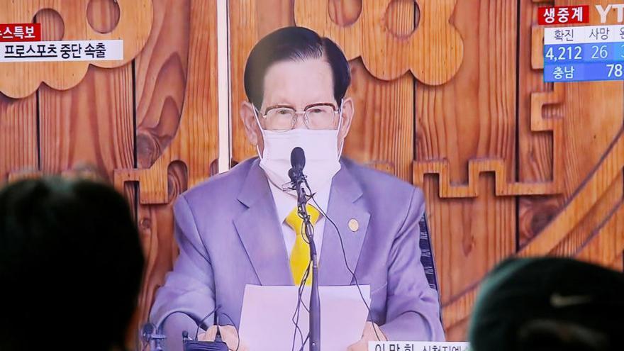 Absuelto el líder de una secta surcoreana acusado de obstruir la respuesta a la covid