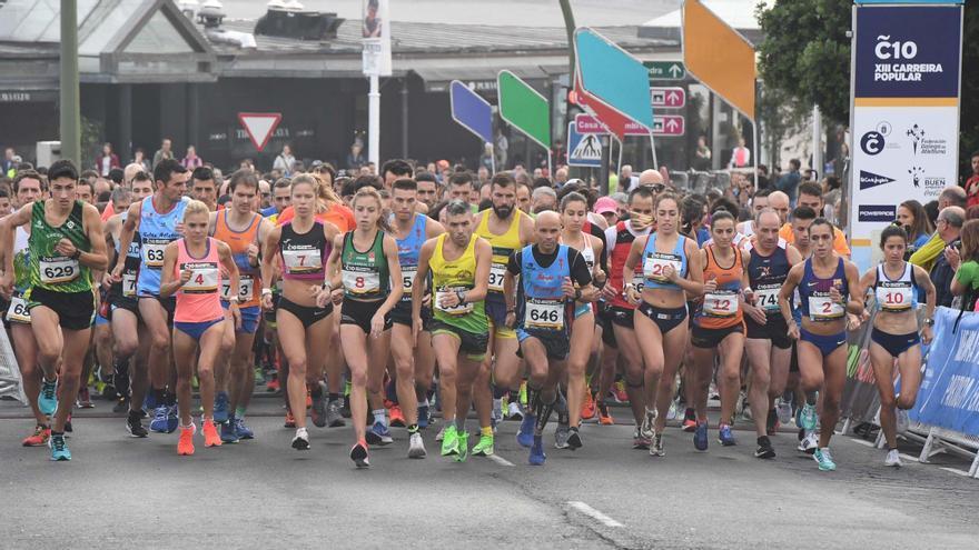 La carrera Coruña10 llegará al puerto el 3 de octubre
