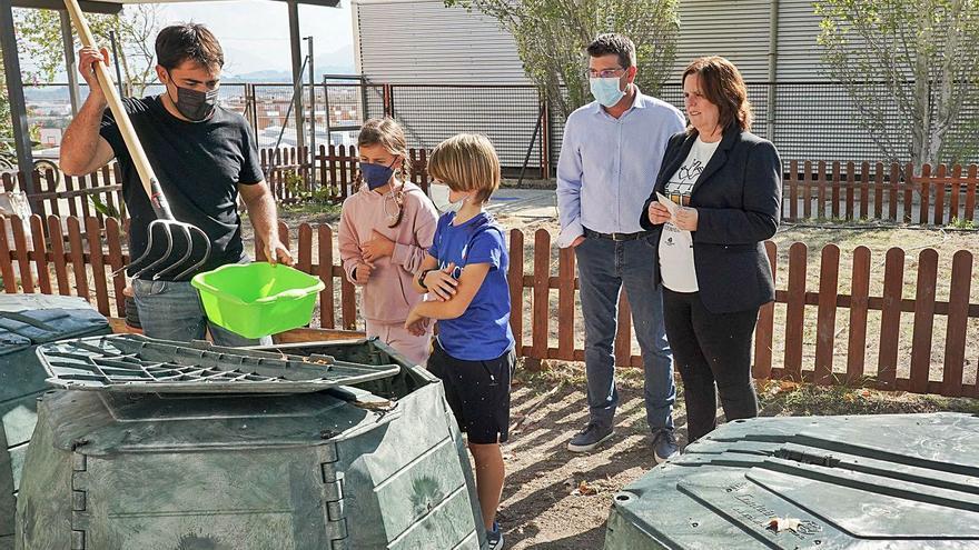 Ontinyent educa sobre el reciclaje responsable