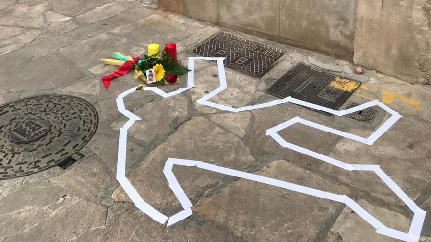 Orgull Llonguet recuerda con un acto simbólico el asesinato del juez Berga hace 400 años