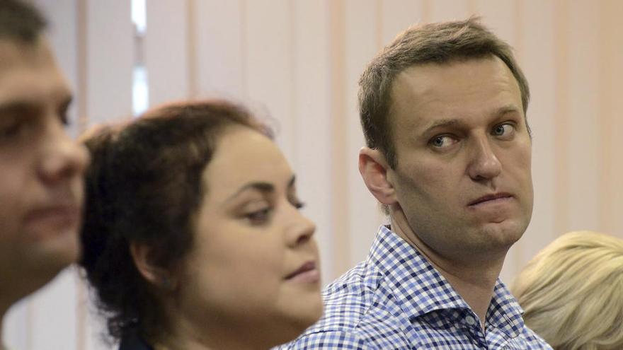 El comité de Instrucción de Rusia incoa un caso penal contra Navalni por fraude