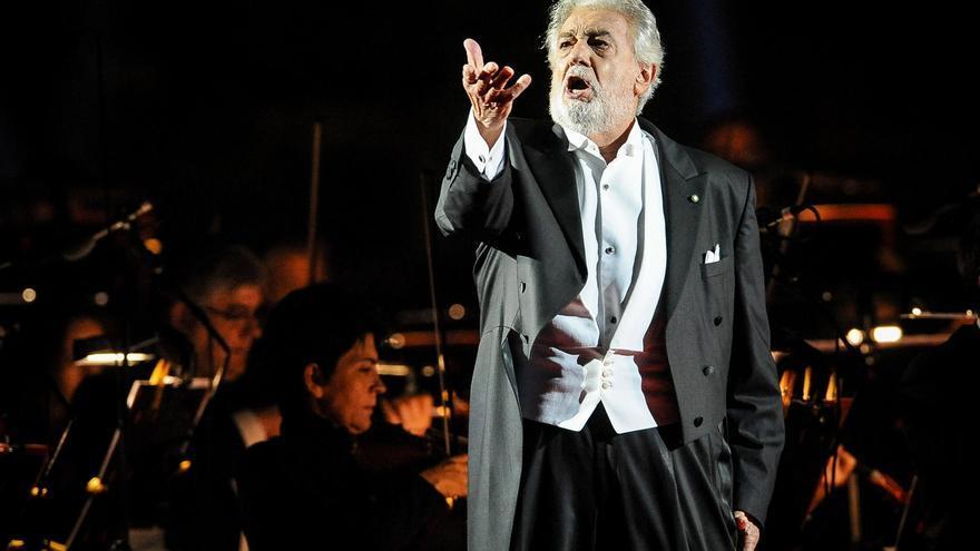 Plácido Domingo regresa a España un año y medio después de su última actuación