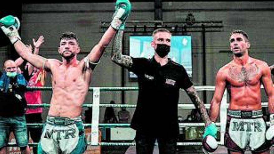 Victòria per a Alejandro López i Daniel Molero, del club Furio Jol de Vilanova del Camí, a la Road MTGP Piera de Muay Thai