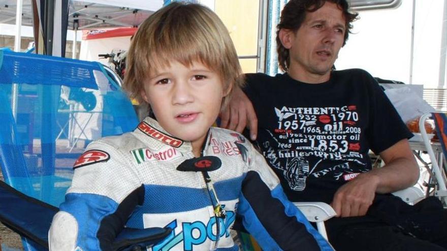 El otro Sergio García, el niño que tuvo moto a los 3 años