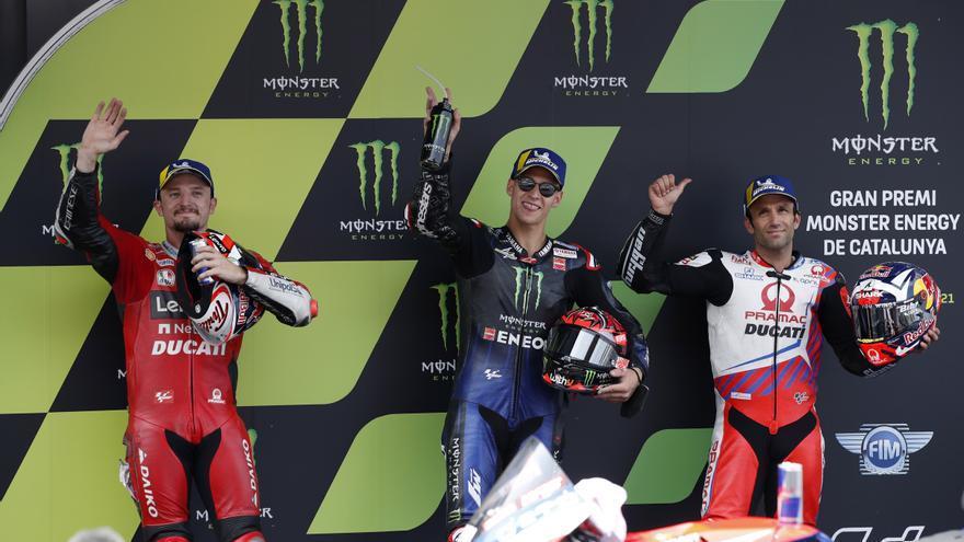 Quartararo firma en Montmeló su quinta pole