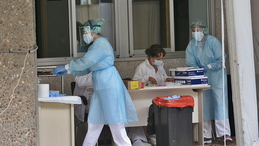 Aumentan un 16% los contagios en el área y se agrava la presión hospitalaria