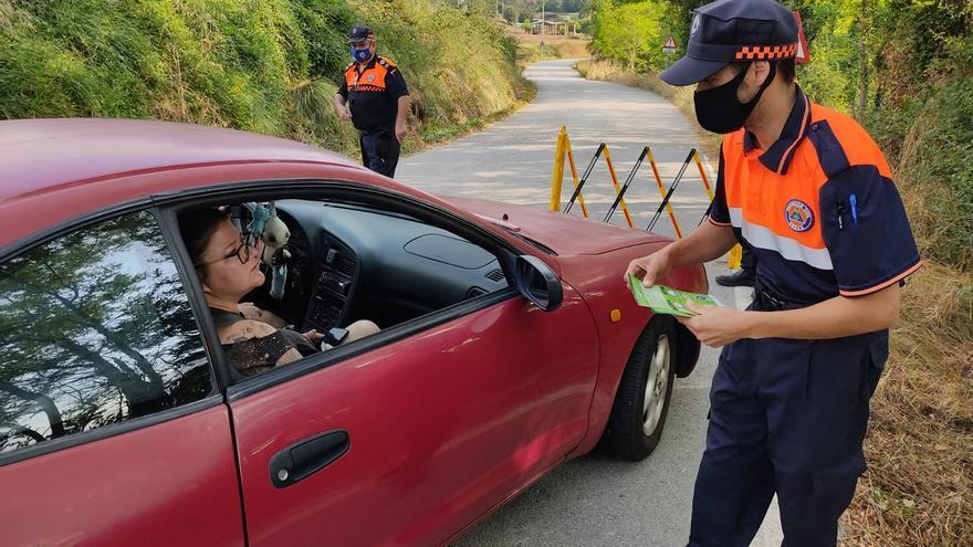 El Berguedà tancarà els accessos de la riera de Merlès quan es completi l'aforament de cotxes