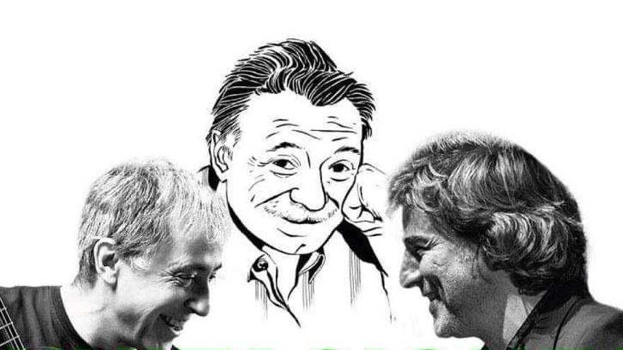 Alberto San Juan y Fernando Egozcue rinden homenaje a Benedetti en la UA