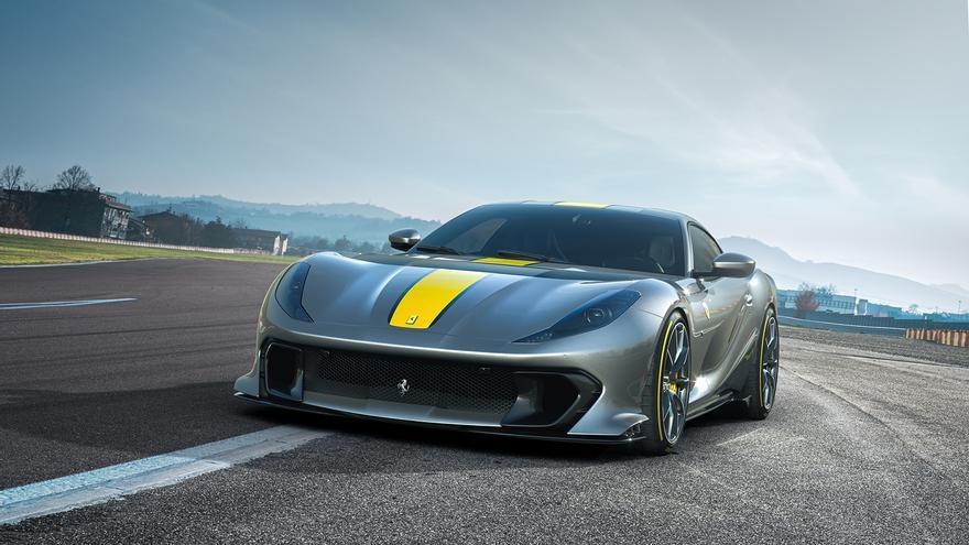 Ferrari 812 Competizione, el coche con el motor atmosférico más potente de la historia
