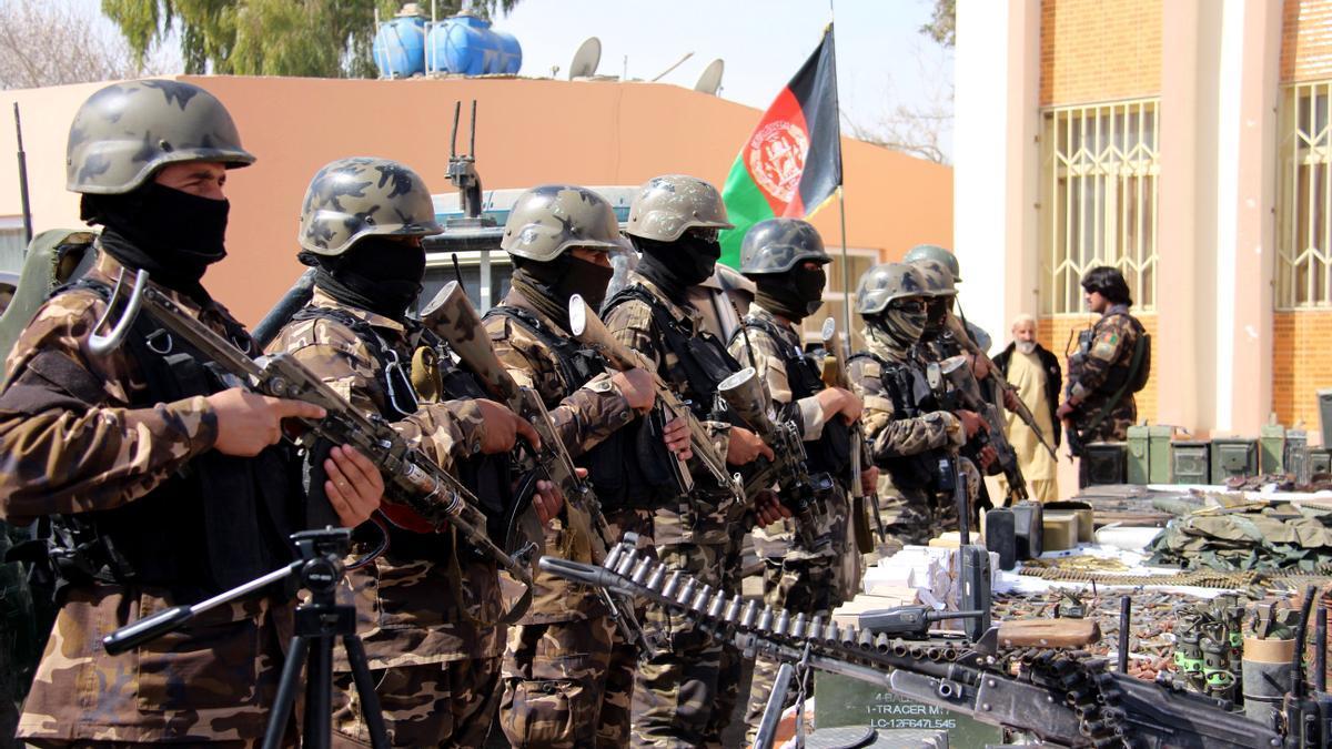 Tropas internacionales en Afganistán