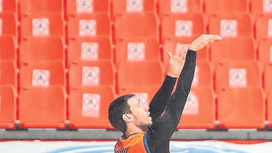 Van Rossom intentará llegar al partido del sábado 16 en Burgos