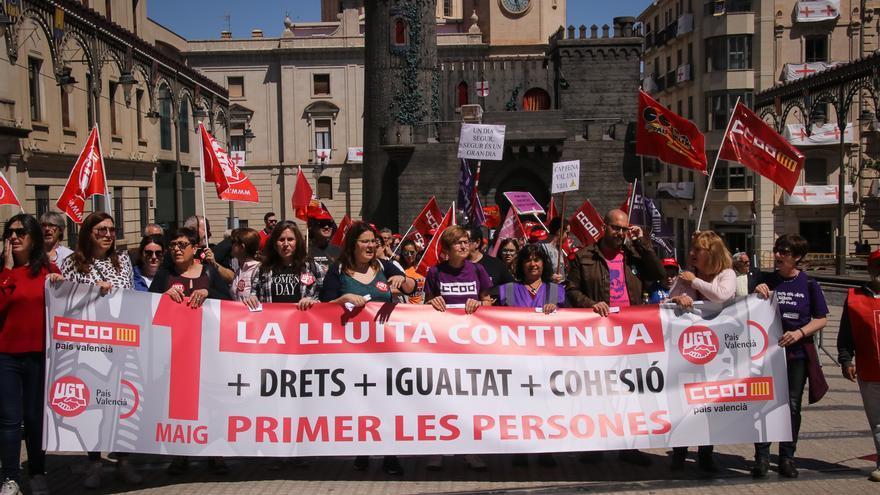 El paro aumenta en febrero en 81 personas en las comarcas de l'Alcoià, El Comtat y la Foia