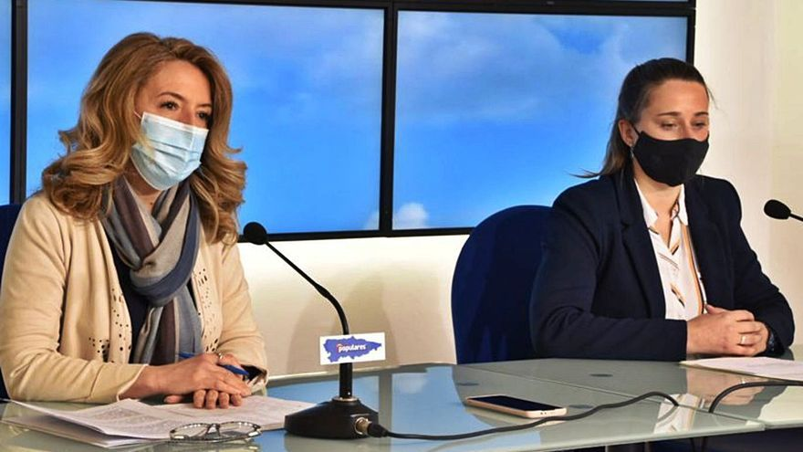 """Teresa Mallada: """"Tenemos un Gobierno que es incapaz de gestionar lo ordinario"""""""