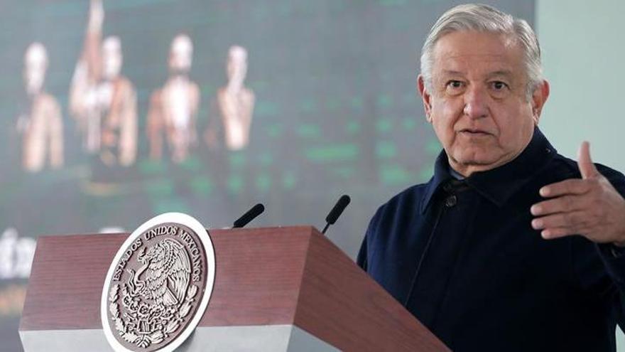 """López Obrador y Biden prometen """"trabajar juntos"""""""