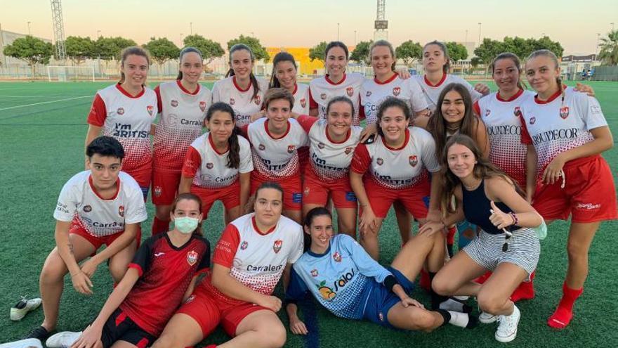 El CDX femenino apuesta por un torneo de fútbol-8