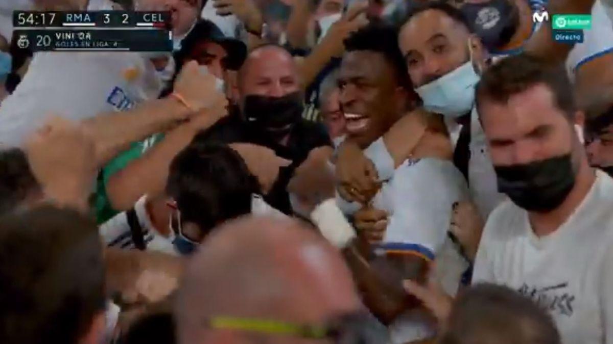 La polémica celebración de un jugador del Real Madrid que hace saltar las alarmas del coronavirus