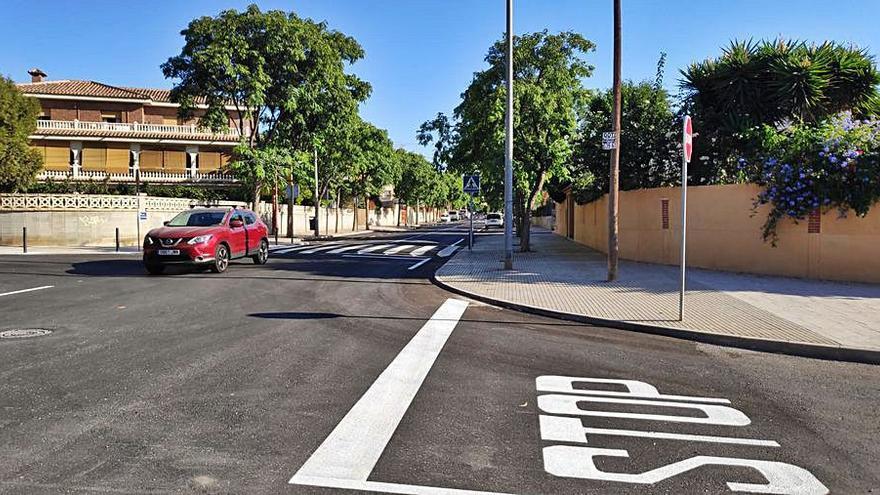 Aprobada la reparcelación del sector de la avenida de Benidorm de Sant Joan