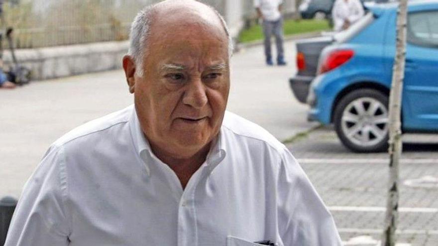 Amancio Ortega, més ric, cau a l'onzè lloc dels milionaris de 'Forbes'