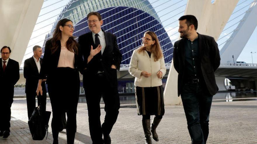 Mónica Oltra invita a Sánchez a celebrar el próximo consejo de ministros en el Palau