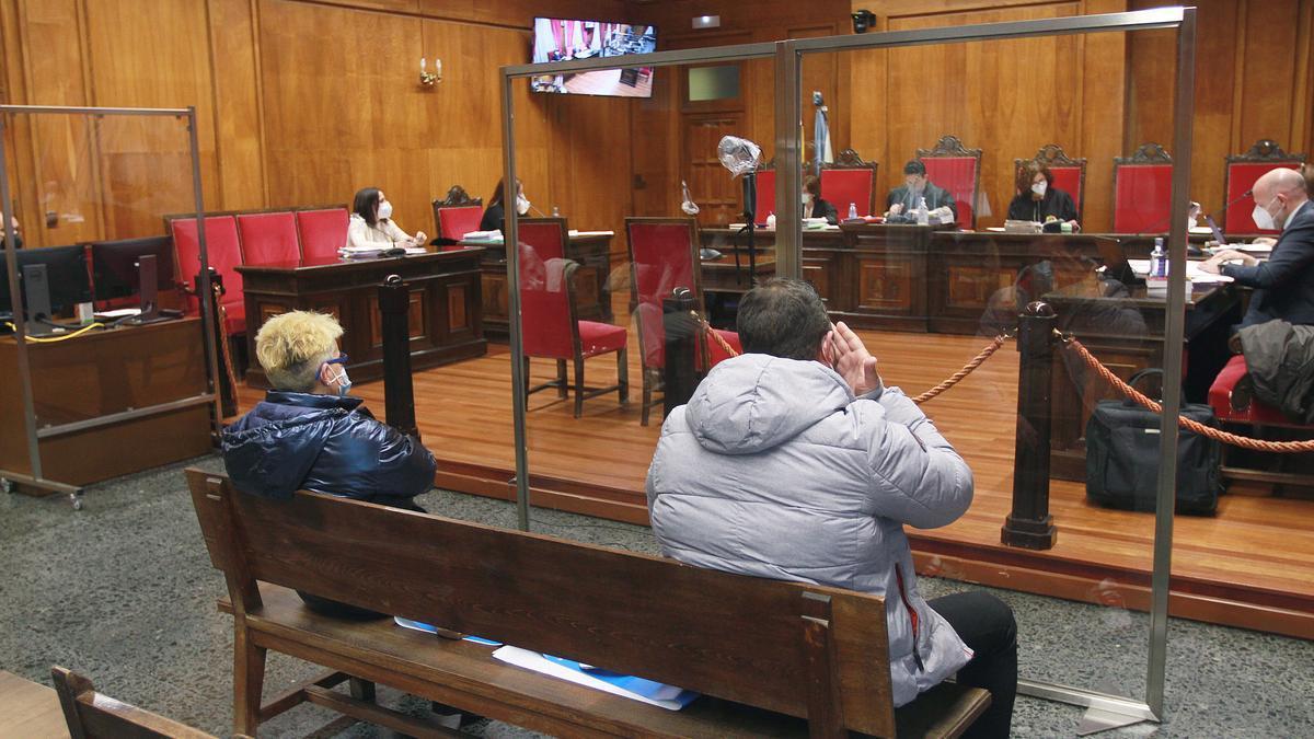 El acusado del atropello mortal durante el juicio.