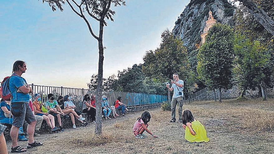 «Berga viu l'estiu!» mostra la història dels càtars entorn del Santuari de Queralt